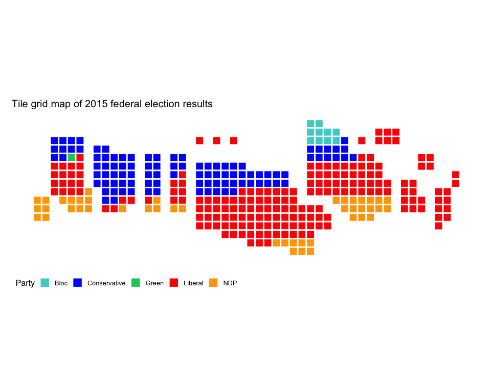 README Canada Election Map on